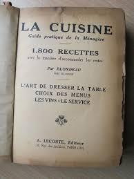 vieux livre de cuisine navets sauce poulette et vieux grimoire la cuisine de quat sous