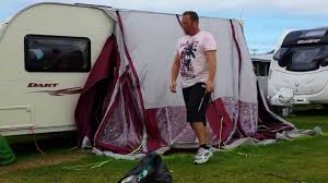 FullFatt Caravaning - Demonstration Of Taking Down The Sunncamp ... Sunncamp Swift 390 Deluxe Lweight Caravan Porch Awning Ebay Curve Air Inflatable Towsure Portico Square 220 Platinum Ultima Porch Awning In Ashington Awnings And For Caravans Only One Left Viscount Buy Sunncamp Inceptor 330 Plus Canopy 2017 Camping Intertional