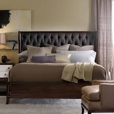 Roma Tufted Wingback Bed King by Bedrooms Wingback Bed Skyline Furniture Nail Button Tufted