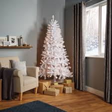6ft Pre Lit Christmas Tree Bq by 6ft 6in Norski Pre Lit Led Christmas Tree Departments Diy At B U0026q