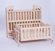 Cheapest Twins Baby Crib Solid Wooden Bed