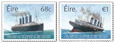 irish sts centenary of the sinking of the rms lusitania 2015