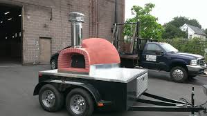 100 Brick Oven Pizza Truck MWH Mobile Wood Fired Trailer 7 Maine Wood