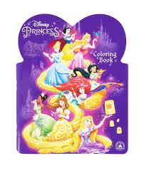 Disney Parks Princess Princesses Coloring Book NEW