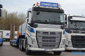WSI Stangeland Volvo FH4 Sleeper Cab Semi Lowloader 4 Axle With ...