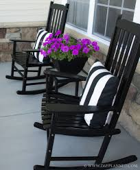 Chair: Cozy Front Porch Chairs With Captivating High Quality Wood ...