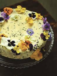 Cake Decorating Books Online by Orange Almond Cake With Passion Fruit Icing Lisa Faulkner