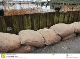 sac de inondation protection d inondation de sac de photo stock image 28801088