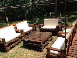 Pallet Garden Furniture Cushions Ideas