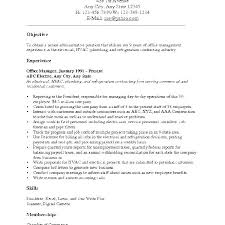 Objectives For Resume Samples Career Example Examples Job Objective Sample Of In