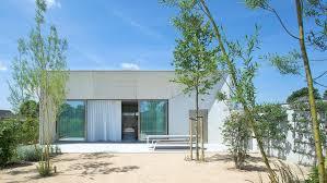 100 Concrete Home A Bright White Designed By Clauwers Simon In Belgium