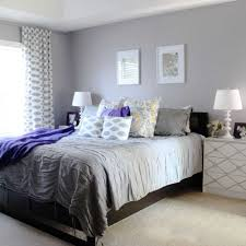 New Purple And Gray Bedroom Walls Room Design Decor Cool With