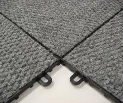 Carpet Loc Interlocking Floor Tiles