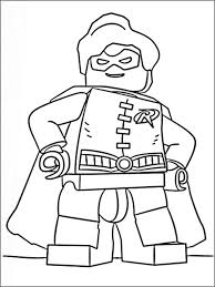 Lego Batman Coloring Pages For Kids 1