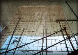 système de clôture péétrale filets de sécurité visor fall