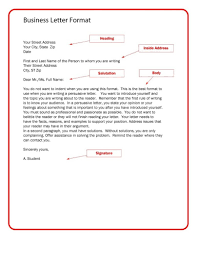 Letter Format Spacing Uk New Example British Business Letter
