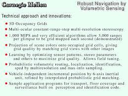 Floor Cleaning Robot Project Report by Moravec Cmu Darpa Mars Progress Report August 5 1999