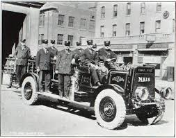 100 First Fire Truck Equipped With Pneumatic Tires Engineering