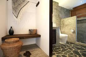 Rustic Bathroom Tile New Ideas Stone Designs Floor Gray Interior Design 0
