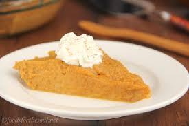 Pumpkin Pie With Molasses Brown Sugar by Crustless Pumpkin Pie Amy U0027s Healthy Baking