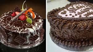 Amazing Chocolate Cake Decoration pilation Most Satisfying Cake Decorating Videos