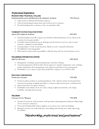 How To Write A Professional Profile For Resume Tomyumtumweb