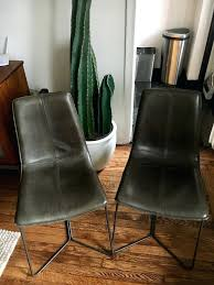 Extraordinary West Elm Leather Dining Chair Appealing Southwest ...