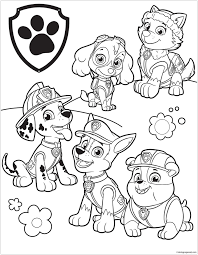 Paw Patrol 39 Coloring Page Coloring Page Coloriage Coloriage