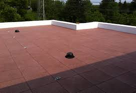 roof deck rubber pavers roofing contractors
