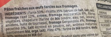 totellini fromages italiens rana 500 g e