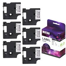 100 7m To Feet Motan D1 Label Tape 45013 S0720530 Standard Labeling Tape