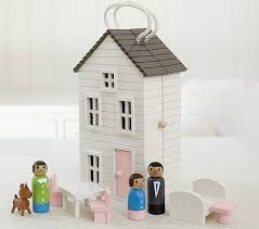 Mini Dollhouse Set