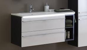 marlin bad 3250 waschtisch mit unterschrank 100 cm breit mit regal auszüge