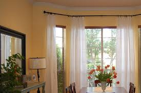 Jcp White Curtain Rods by Magnetic Curtain Rod For Bay Window Afrozep Com Decor Ideas