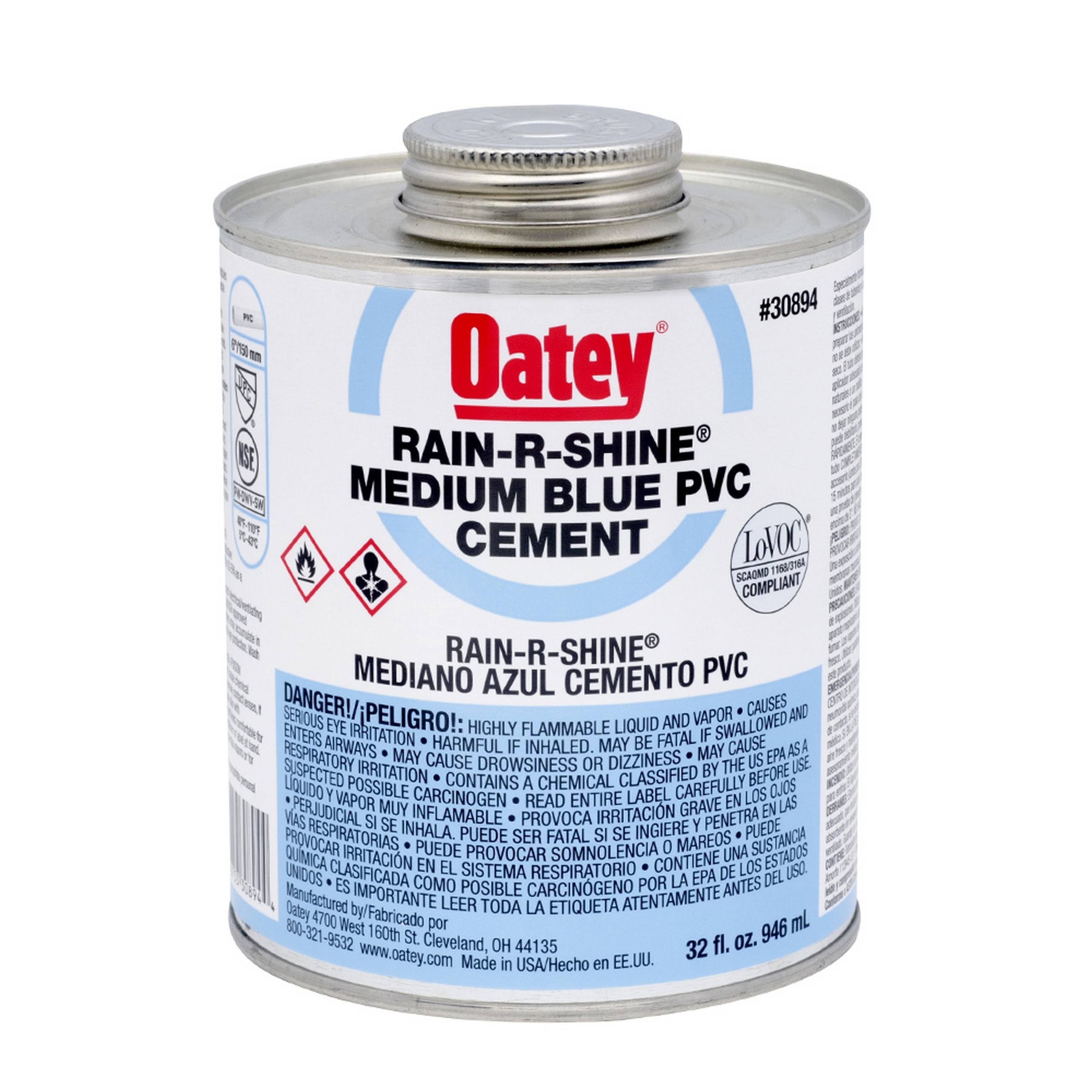 Oatey All Purpose Cement - Milky Clear, 4oz