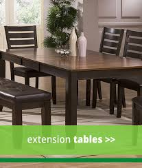 4 PC Dining Sets Extension Tables