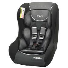 si e auto isofix groupe 0 1 nania siège auto groupe 0 1 2 trio sp confort noir achat