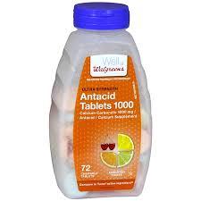 walgreens ultra strength antacid calcium supplement chewable