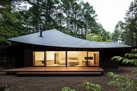 100 Japanese Modern House House In Japan Looks Like Fallen Leaves Curbed