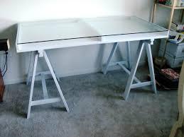 Small Glass And Metal Computer Desk by Elegant Functional Practical Versatile Ikea Desk Top Designs