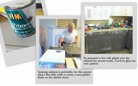 Thermofoil Cabinet Doors Bubbling by Painting Melamine Kitchen Cabinets The Decorologist
