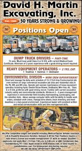 Employment Opportunities, David H. Martin Excavating, Inc ... Tri Axle Dump Truck Automatic And Pup Best Freightliner Triaxle Youtube Material Hauling V Mcgee Trucking Memphis Tn Rock Sand Low Loader Casabene Group Bought A Lil Any Info Excavation Site Work Trucksforsale Hashtag On Twitter For Sale By Owner Paramount Sales Rw Mack The Pinterest Trucks And Rigs Kenworth T800 Dump Truck Wallpaper 2848x2132 176847 Intertional Triaxle For Hire Barrie Ontario Axle Sale In New York Video