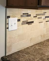 travertine tile backsplash installation installing glass and