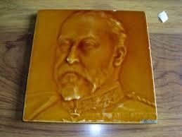 antique wall tile j c edwards ruabon william gladstone 160694846