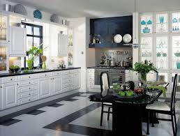 Country Kitchen Themes Ideas by Cool White Color Italian Kitchen Design Theme Presenting Ample