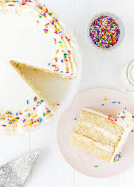 Eggless Vanilla Cake Recipe Mommy s Home Cooking