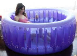 Inflatable Bathtub Liner For Adults by Tub Rentals Awakenings Birth Services Awakenings Birth Services
