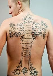 Perfect Cross Tattoos Designs 32