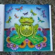 My Enchanted Forest Coloring Book Frog Page If Youre In The