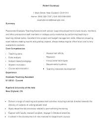 College Teaching Assistant Resume Example Peer Mentor Sample Here Are Teacher On For Great Childhoods